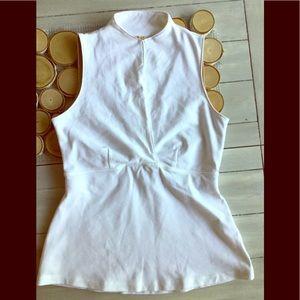 Lululemon White yoga top